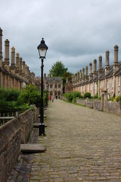 ~ Vicar's Close in Wells, Somerset, claims to be the oldest purely residential street with original buildings all surviving intact in Europe.