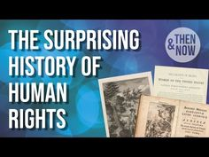 The Surprising New History of Human Rights - YouTube