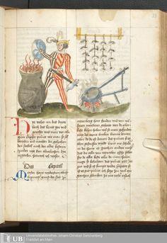 67 [33r] - Ms. germ. qu. 14 (Ausst. 48) - Rüst- und Feuerwerksbuch - Page - Mittelalterliche Handschriften - Digitale Sammlungen Rhein-Main-Gebiet, [um 1500]