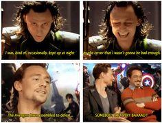 Tom Hiddleston as Loki interview