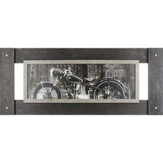 Found it at Wayfair - Vintage Motorcycle Wall Art