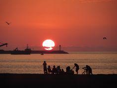 Sunset in Arica, Chile