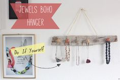 Jewels Boho Hanger :: DIY