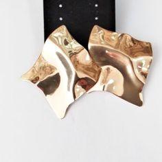 Βραδινά Σκουλαρίκια Χρώματος Χρυσό 418081 Money Clip, Wallet, Fashion, Moda, La Mode, Handmade Purses, Fasion, Purses, Fashion Models