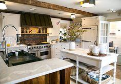 [CasaGiardino]  ♛  One Kings Lane Connecticut House kitchen