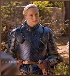 """Gwendoline Christie as """"Brienne of Tarth"""" in armor. Game of Thrones.  #Hbo"""