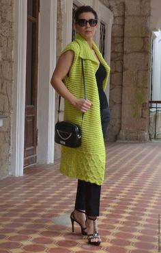 Магазин мастера Вязаные кардиганы  EvAnna: кофты и свитера, пончо, одежда для девочек
