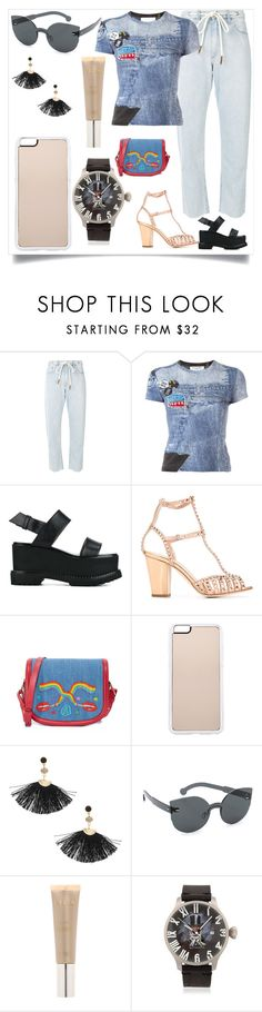 """""""Fashion is fad but style is eternal"""" by denisee-denisee ❤ liked on Polyvore featuring rag & bone/JEAN, Christian Dior, Givenchy, Giuseppe Zanotti, Olympia Le-Tan, Zero Gravity, Shashi, RetroSuperFuture, Stila and Proff"""