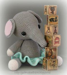 Crochet Elephant :)