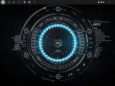 TECH-A by ~Burnwell88 #FUI #UI #HUD