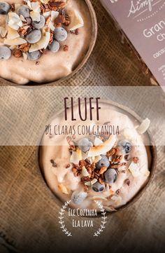Fluff de Claras, um snack super proteíco