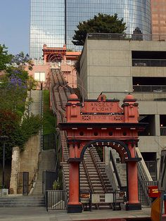 For the first time in nine years, the historic funicular that climbs Bunker Hill in Los Angeles is back in action.  Built in 1901 by engineer and Civil War veteran Colonel J.W. Eddy, the Angels Flight Railway ran until 1969, when the city shut it down as part of an urban renewal project. The railway reopened in 1996 but closed in 2001, when two cars collided, killing an 83-year-old man and injuring seven others.