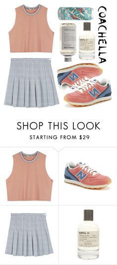 """keep dreaming away"" by haomind ❤ liked on Polyvore featuring New Balance and Le Labo"