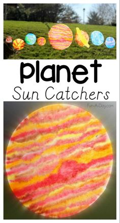 A fun space craft for kids to extend their knowledge of planets. Perfect for preschoolers through elementary-aged kids. Makes some coffee filter planets! Outer Space Activities for Kids Space Activities For Kids, Space Preschool, Preschool Crafts, Toddler Crafts, Craft Activities, Planets Preschool, Crafts For Preschoolers, Planets Activities, Solar System Activities