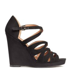 Black wedges for Mom to wear.