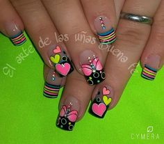 Super fails art designs for fall summer 25 ideas Fabulous Nails, Gorgeous Nails, Pretty Nails, Beautiful Nail Designs, Cute Nail Designs, French Nails, Nagel Hacks, Diva Nails, Nails Only