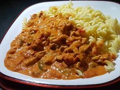 Pork Dishes, Special Recipes, Chili, Bacon, Food And Drink, Soup, Cooking Recipes, Tasty, Favorite Recipes