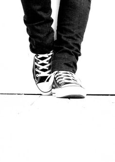 Black and White - by converse-equals-love    http://converse-equals-love.deviantart.com/art/Black-and-White-118405673?offset=10#comments