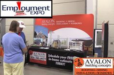 Meet Avalon and other companies looking for hard-working prospective employees at the West Michigan Employment Expo. http://avalonbuildingconcepts.net/join-our-award-winning-team-avalon-at-the-employment-expo/. #avalon #AvalonBuildingConcepts #roof #roofing #siding #insulation #instagram #insulation #windows #home #homeimprovement #grandrapids #grandrapidsmi #westmichigan #contractor