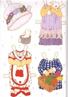 (⑅ ॣ•͈ᴗ•͈ ॣ)                                                            ✄Puddin Paper Doll Clothes 7