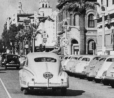 Riverside California, Riverside County, California History, Vintage California, California Art, Southern California, Mission Inn, San Luis Obispo County, Main Street