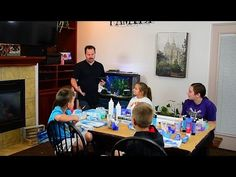 Fluid Painting Tutorial with 5 Students - Acrylic Pours & Easy Ideas for You - YouTube