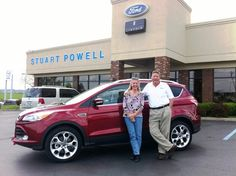 Congratulations to Nina Wesley, owner of a new 2013 Ford Escape Titanium 4WD with all the toys, including moonroof and leather!  Nina's trade-in (a 2013 Escape SE 4WD with only 11,000 miles) will make someone a great vehicle!  Nina, we appreciate your patronage with us over the past several years!!