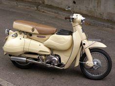 Honda little cub custom