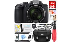 Nikon Coolpix B700 20.2MP Digital Camera and Accessories Bundle: Nikon Coolpix B700 20.2MP Digital Camera and Accessories Bundle