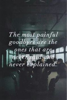 Did this last time I moved. It didn't hurt at that moment. But now u regret never saying goodbye.