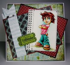 Another Messy Crafter: Whimsy Stamps