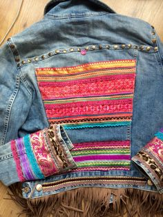 ❤ más diy in 2019 denim ideas, denim jeans, boho diy. Diy Jeans, Diy With Jeans, Gilet Jeans, Jacket Jeans, Vetements Clothing, Nordstrom Jeans, Mode Hippie, Diy Vetement, Denim Ideas