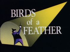 """All The Title Cards From """"Batman: The Animated Series"""""""