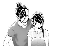 Image in manga, anime collection by i love clouds Manga Couple, Anime Couples Manga, Manga Anime, Anime Boys, Romantic Anime Couples, Cute Anime Couples, Coldplay, Daytime Shooting Star, Tsubaki Chou Lonely Planet