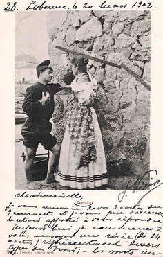 Nº A1 - Portugal- Espinho - 1900 - Editor Araujo e Sobrinho - Dim. 14x9 cm. - Col. M. Chaby