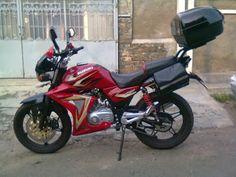 Modifikasi Motor Suzuki Thunder