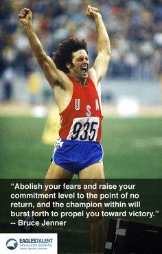 1976 Olympic Gold Medal Winner Bruce Jenner on overcoming fears.