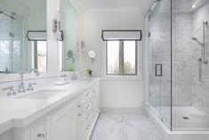 Luxury bathroom design by Amanda Forrest Design, Toronto. Rustic Bathrooms, Modern Bathroom, Master Bathroom, Luxury Bathroom Vanities, Bathroom Design Luxury, Steam Showers Bathroom, Bathroom Floor Tiles, Amanda Forrest, Beautiful Bathrooms