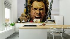 Fototapeta Clint Eastwood 365 dni na zwrot ✓ Miliony wzorów ✓ 100% ekologiczny druk ✓ Profesjonalna obsługa i doradztwo ✓ Skonfiguruj online!