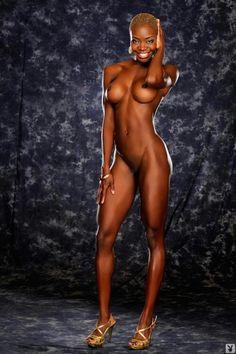 Naked black girls models
