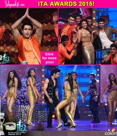 ITA Awards 2015: Vivian Dsena Gautam Gulati Shakti Arora and Gauhar Khan BURN the dance floor with their scintillating performances  view pics!