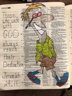 Those who walk with God always reach their destination. Jeremiah 29:11  #BibleJournaling