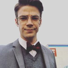 """Earth 2 gonna be like..."" Grant Gustin via Instagram"