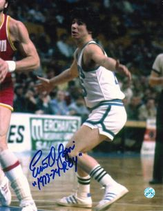 """Autographed Ernie DiGregorio Buffalo Braves 8x10 Photo Inscribed """"""""1973-74 ROY"""""""""""