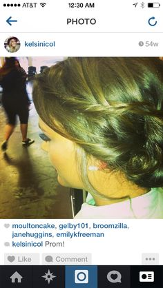 Formal styling. Updo. Braid. Textured curls #braid #updo #wedding #hairlove Love this photo! #Sterlingsalon Love this photo! #Sterlingsalon #summer #hair #blonde #love #fall #stylish #2014 #trend #beachy #waves #product #style #color #layers #texture #awesome #beforeandafter  #ilovehair #davines #beforeandter #kelsidowneystylist #ombre