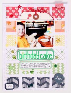 Birthday cake by emma_kw at Studio Calico