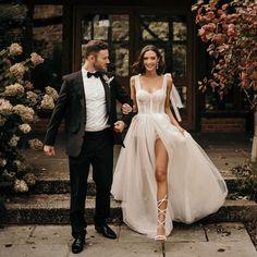 Magical@musebybertalove story ♡ Pics@the_unbridled_ #Berta #vakkowedding #bridal Muse By Berta, Bridal Dresses, Bridesmaid Dresses, Bridesmaids, Luxury Wedding Venues, Dream Dress, Dress Making, Love Story, Wedding Inspiration