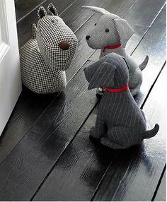 Faire un chat cale porte les tutos couture pinterest - Cale porte tissu ...