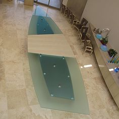 Specializes in design and manufacturing of architectural and decorative glass. Products include shower enclosures, windows, doors, counters and partitions. Office Art, Office Decor, Glass Countertops, Cast Glass, Shower Enclosure, Glass Table, Windows, Architecture, Design