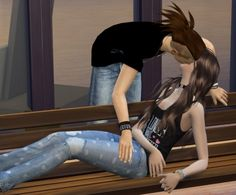 Downloaded Bench Couple Pose at Chaleara´s Sims 4 Poses